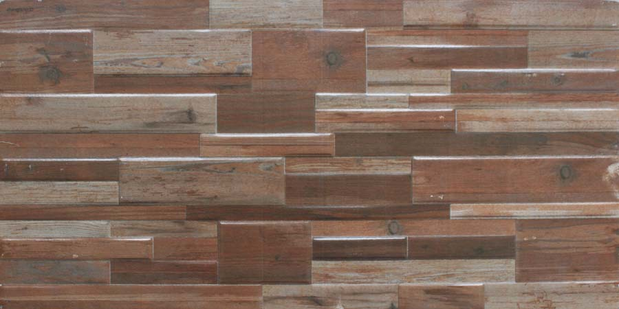2017 Latest Design Inkjet Wall Tile Wood Look Ceramic 300x600mm