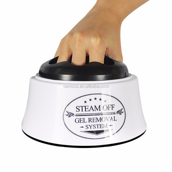 Portable Electric Gel Nail Polish Remover Steamer Machine For Salon Home Use
