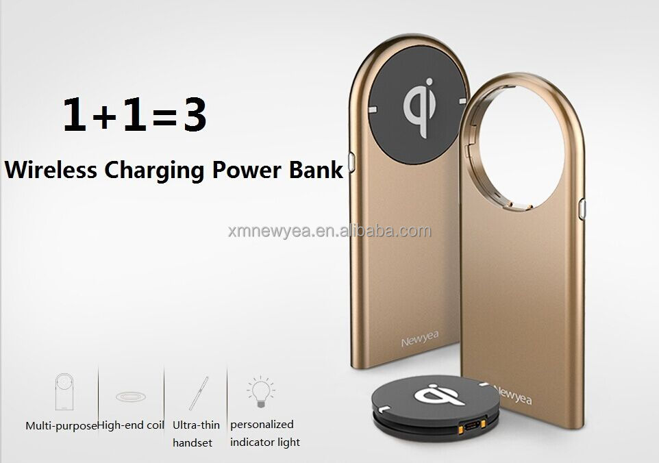 Christmas Hot sale high quality for iphone 6 charger mobile wireless charger power bank