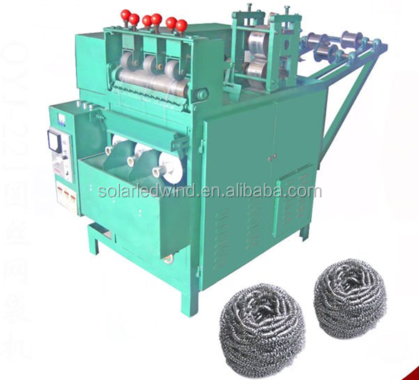 Fully Automatic Spiral Scourer Knitting Machine