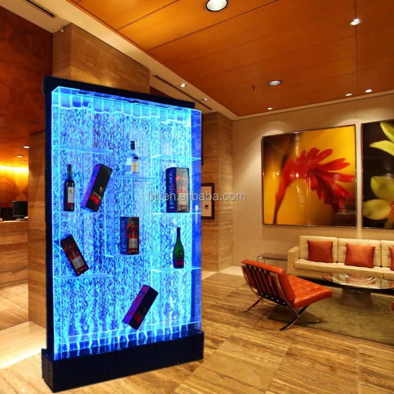 mensola di esposizione del vino mobili illuminato a led armadietti di documenti id prodotto. Black Bedroom Furniture Sets. Home Design Ideas