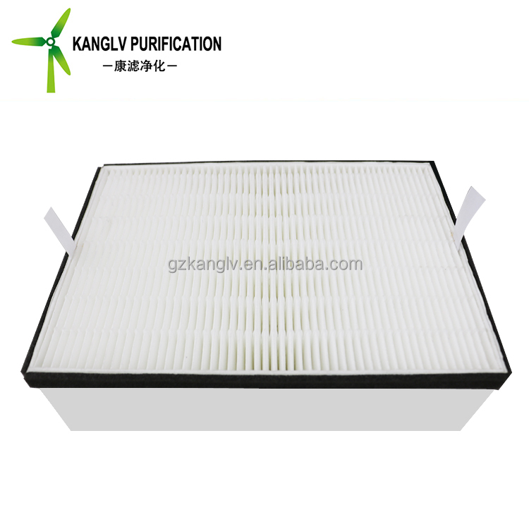 0.3 0.5 1 micro porosity paper air purification panel filter