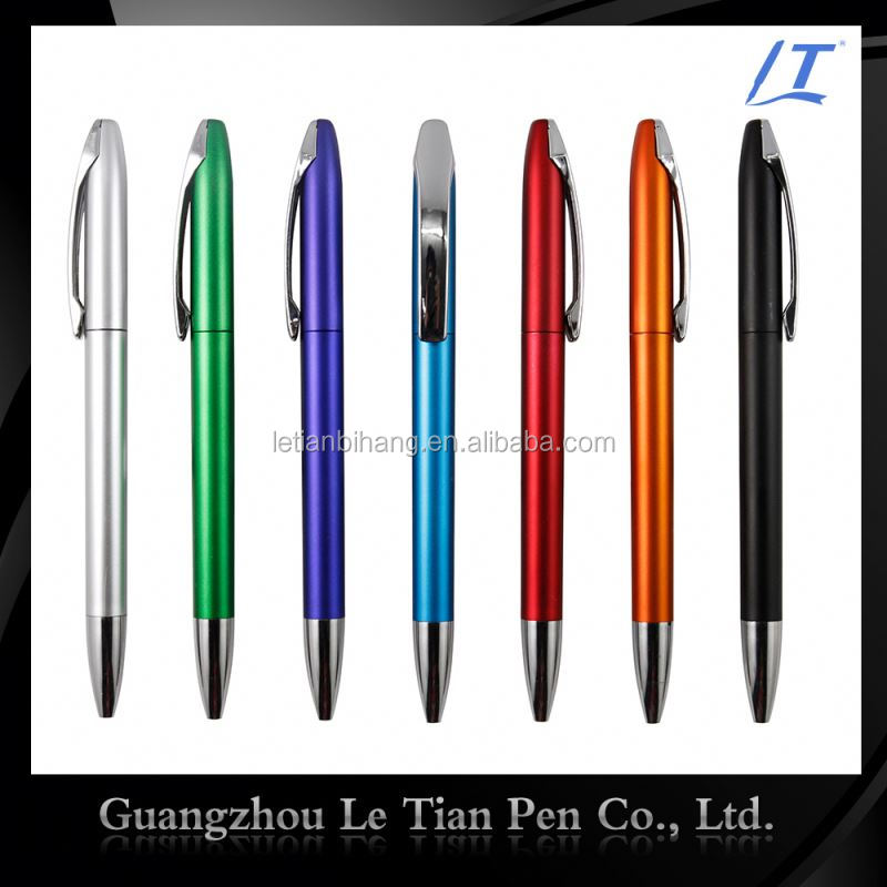 Factory Price colorful Drop Paper Eco Plastic Ball Point Pen For Promotion