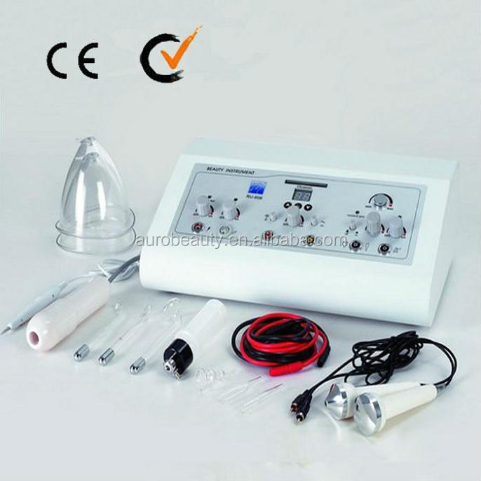 AU-606 high quality Breast care ultrasonic Vacuum beauty equipment for skin beautification