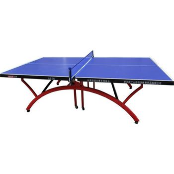 Outdoor Recreation Facilities Structure Material Folding Legs Ping Pong  Table Tennis Tables Outdoor