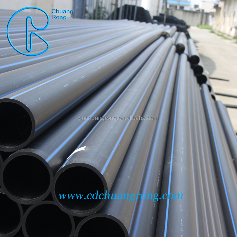 Food grade plastic HDPE100 pipe for water supply