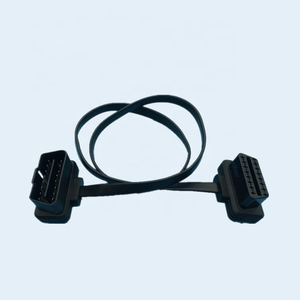 Custom Male To Female Extension 16Pin OBDII OBD2 Cable