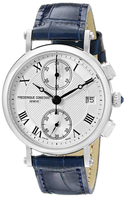 Frederique Constant Women's FC291MC2R6 Classics Analog Display Swiss Quartz Watch