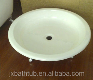 round cast iron shower tray / shower base made in China
