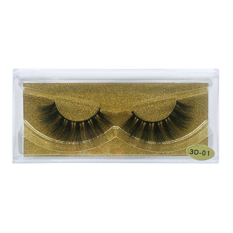 False Eyelashes Eyelashes Hand Made False Eyelashes Eyelash Extension Ups Free Shipping 50pairs 3d Mink Eyelashes Make Up 3d Mink Lashes Vendor Warm And Windproof