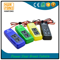 150w 12v/24v portable inverter dc to ac car inverter fashion China 4 colors