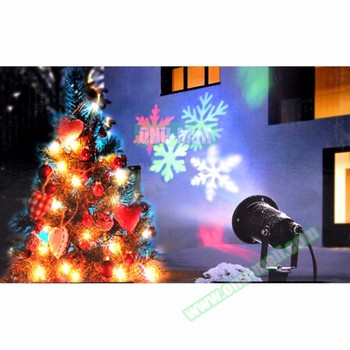 Wholesale Christmas Decor IP44 Waterproof LED Spot Outdoor Christmas Projecto