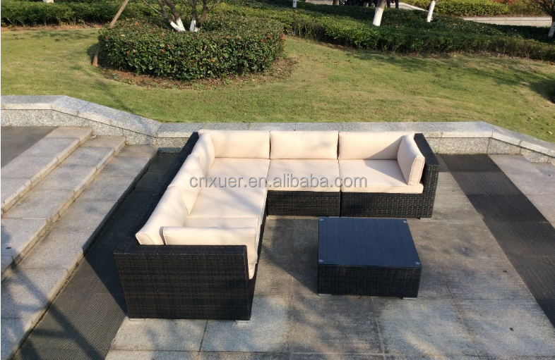 l shaped rattan sofa sets l shaped rattan sofa sets suppliers and manufacturers at alibabacom