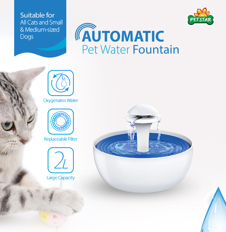 Automatic Pet Drinking Water Fountain Pet Water Fountain Cat Fountain