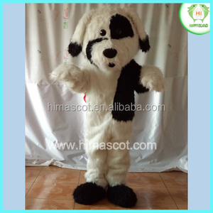 HI CE popular Black and white Dalmatians big-ears dog mascot costumes made in China