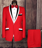 latest design colour combination lapel Formal frock made to measure online wholesale shop wedding suits for men