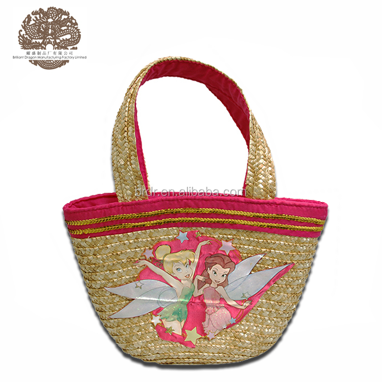 Summer Beach Paper Straw Tote Bag for Women