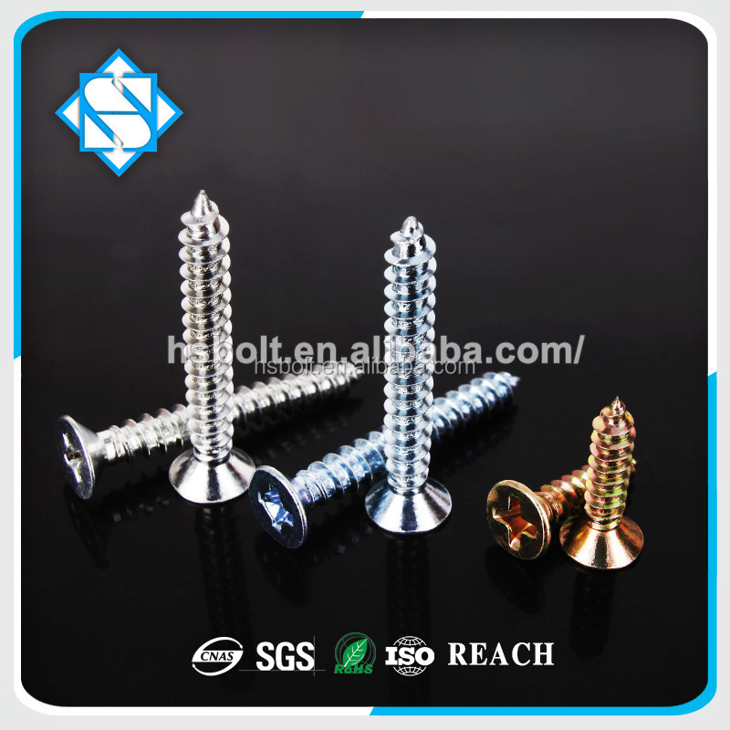 China Screw Manufacture Concrete Screw Flat Head Torx Recess