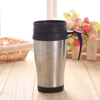 Stainless Steel Insulated Travel Mugs Thermal Coffee Mug Tea Cup
