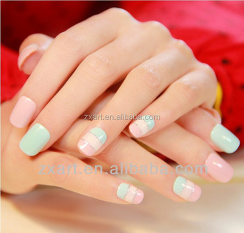 High Quality Cheapest With Glitter Nail Art Korea Style Solid Color
