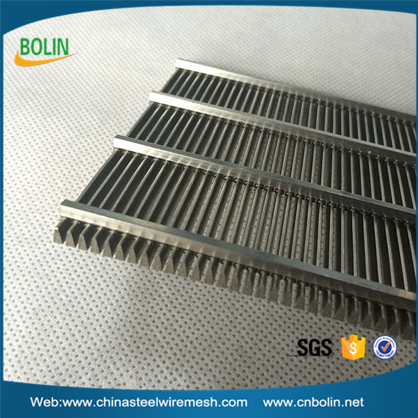 High quality 304  well screen stainless steel wedge wire screens (customized)