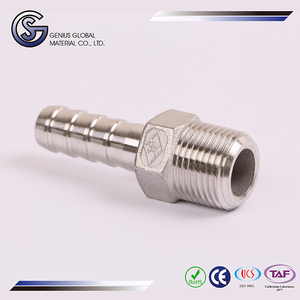 GS-H10 Pipe Fittings Barded Hose Male Connector pvc rtr y branch pipe fitting eccentric reducer
