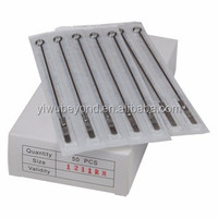 Tattoo Needles 6 Sizes - 50 Mixed Assorted - Round Liner 1 3 5 7 9 11 RL -NEW