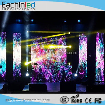 Eechin nueva pantalla led p3 etapa efectos visuales led panel pared de v deo led para el - Pantalla led cultivo interior ...