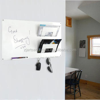 Metal Home Decor Wall-mount 3 in 1 Magnetic Memo Board