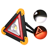 10W Multi-function Portable Foldable Emergency Warning Light USB Rechargeable Triangle Led Work Light