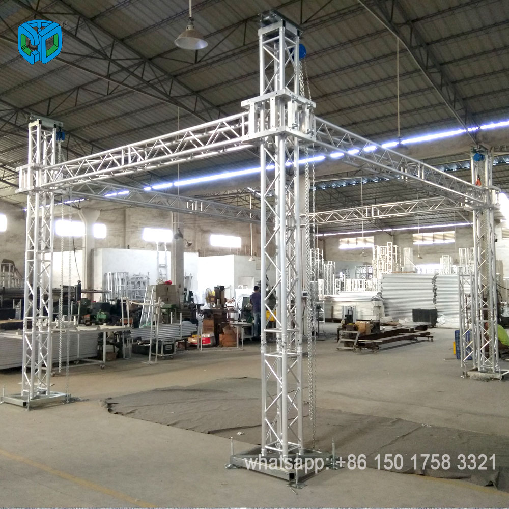 Guangzhou Used Aluminum Stage Lighting Truss System Smart Global Product On Alibaba