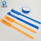 Various colors one time use customized plastic wristbands