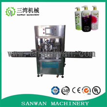 Production line 8 heads automatic bottle washing filling capping machine