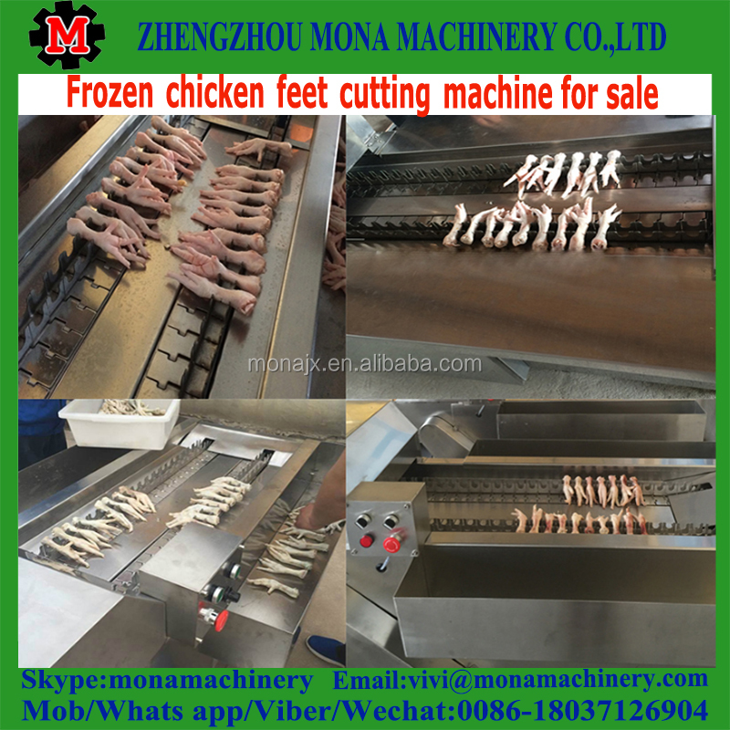 chicken paw / feet leg cutting machine on sale
