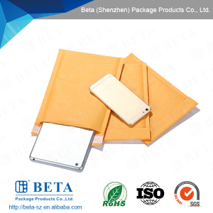 Widely Use Packing Cheap Bubble Envelopes/ Golden Kraft Bubble Mailer