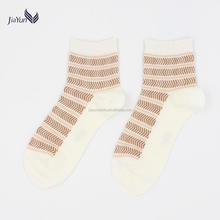 combed cotton top quality custom logo women winter crew socks