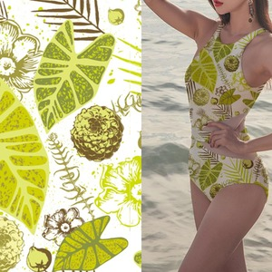 High quality sports textile printing stretch 100% polyester swimwear fabric for underwear/bra/sportswear