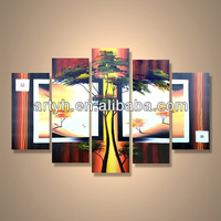 Popular handmade home decor oil painting provider