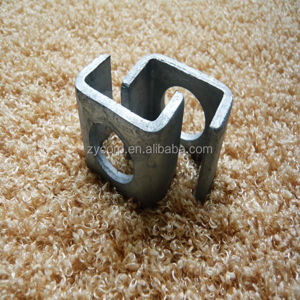ground stand clamp customized metal clamps hot dipped galvanized guy wire rope fittings clamp overhead line fittings