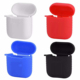 Cheap silicone protective case carry bag shock proof cover for Apple airpods headphones