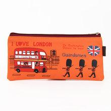 1 шт. I Love London пенал для карандашей из ткани Оксфорд Пенал мультяшный солдатик пенал канцелярские принадлежности Kawaii подарок(Китай)