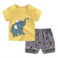 High Quality Lovely Baby Short Sleeve Suit with Factory Price on Sale Baby Clothes sets Wholesale