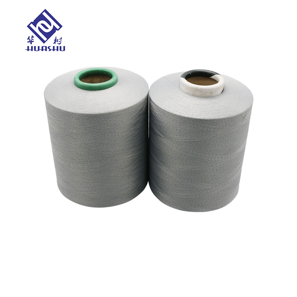 polyester covered spandex yarn for sock knitting machine
