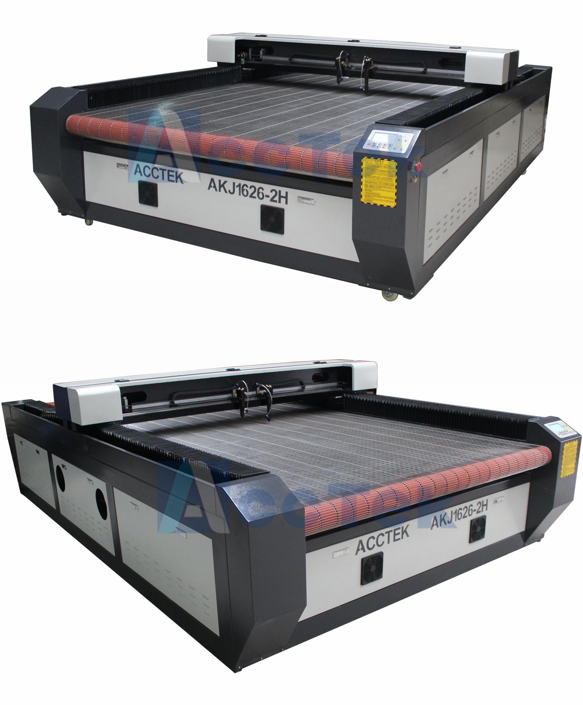 Auto feeding table 1626 cnc fabric cutting machines,cnc laser cutting machine for leather