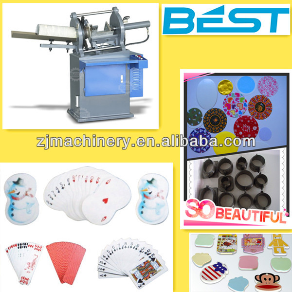aluminum foil label die cutting machine