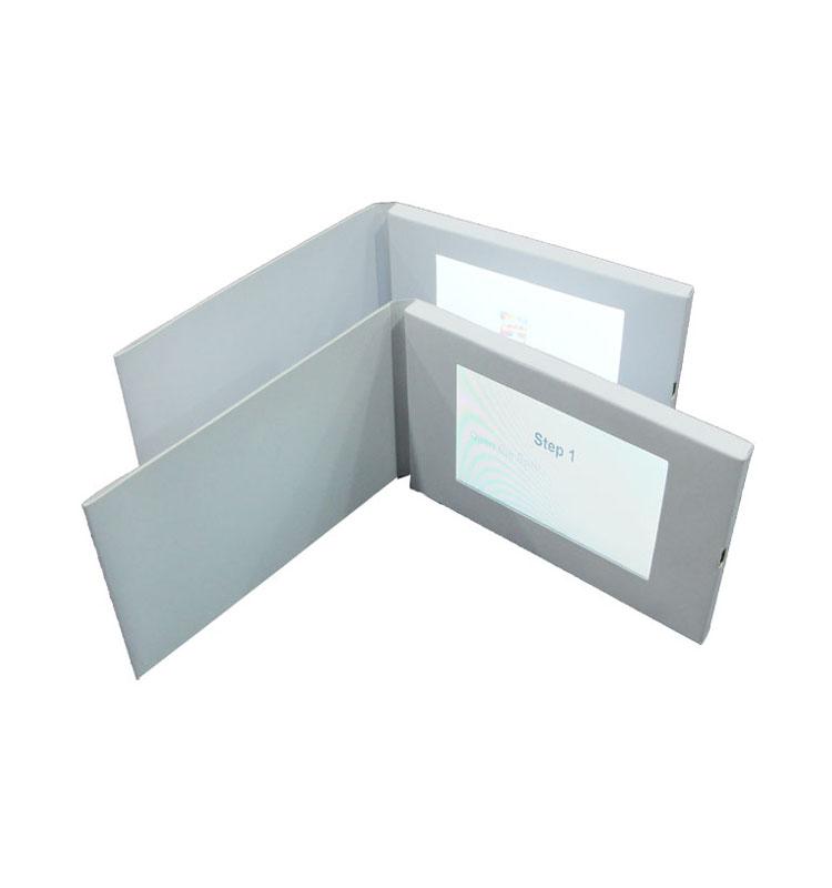 Neue hochwertige 7-Zoll-Lcd-Bildschirm-Geschäfts-Geschenk-Video-Gruß-Karte