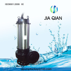 1.5 KW Vertical Non Clogging Submersible 2hp Submersible Pump In 2018