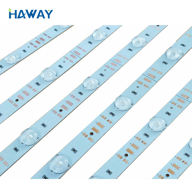 2019 Hot-selling 12V Special Roll Curtain Diffuse Reflector for Advertising Light Box rigid strip led 3030 12leds/m