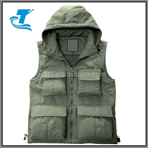New Wear Men Outdoor canvas hunting Vest