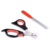 Factory supplier Professional dog nail scissors for grooming, stainless steel blade dog grooming scissors sets